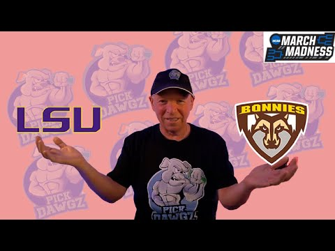 LSU vs St. Bonaventure 3/20/21 Free College Basketball Pick and Prediction NCAA Tournament