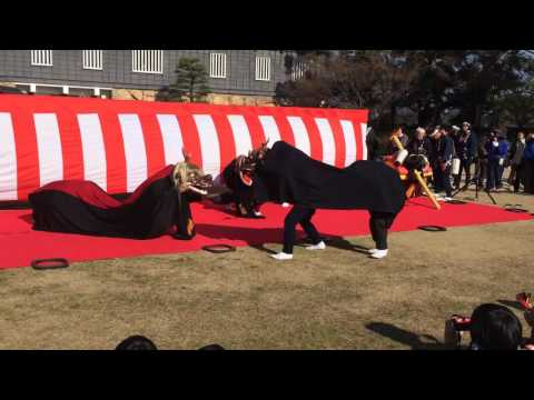 Japanese New Year Lion Dance (part 2)