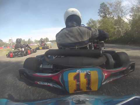 Florida Pro Kart Series Jacksonville Event 3 race 6 Heat 1