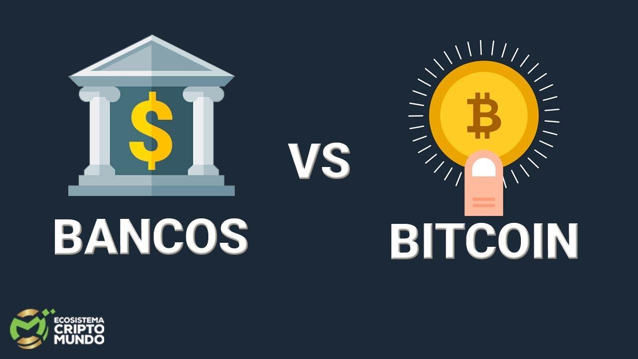 bitcoin vs bănci)
