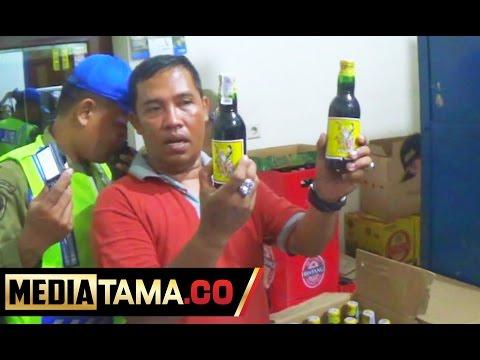Razia Miras Jelang HUT RI di Kota Tegal