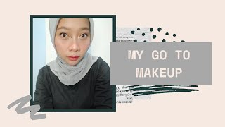 Download lagu My Go To Makeup Under 100K !!!   Simple & Natural   Cyintia Rachmawati