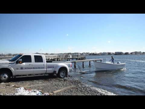 All Points Marine Services Launching the Allied 17 Foot Unlimited With 60 HP Honda