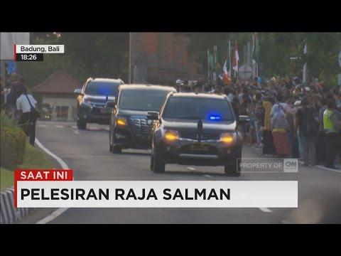 Rombongan Raja Salman Tiba di Bali