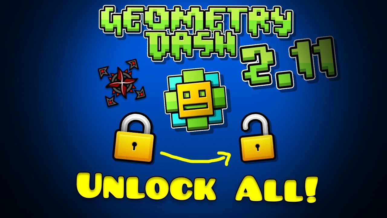 geometry dash full version apk everything unlocked