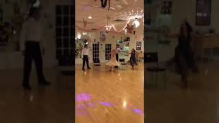 The Jewetts And Their Instructors Dancing Their Showcase At Party, June 1st, 2018