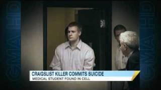 Alleged Craigslist Killer Commits Suicide