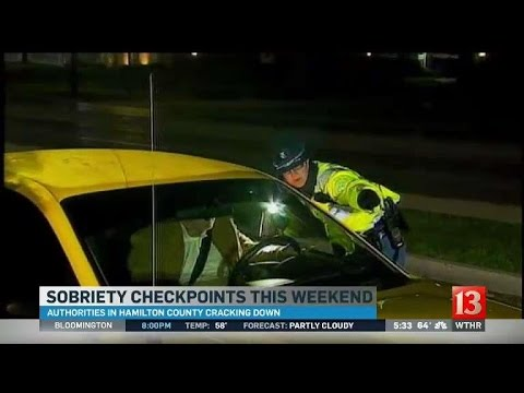 Hamilton County Sobriety Checkpoints