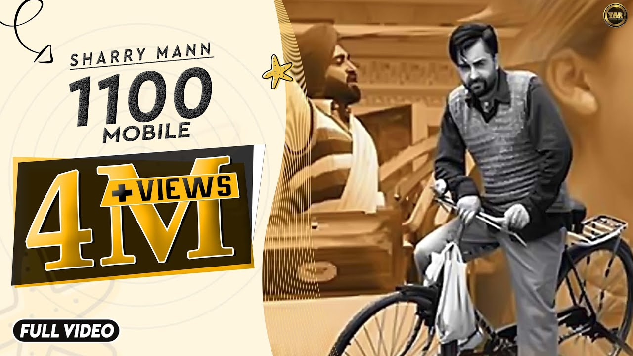 1100 - Mobile || Sharry Maan || Full Official Video || Yaar Anmulle Records  2015 ||