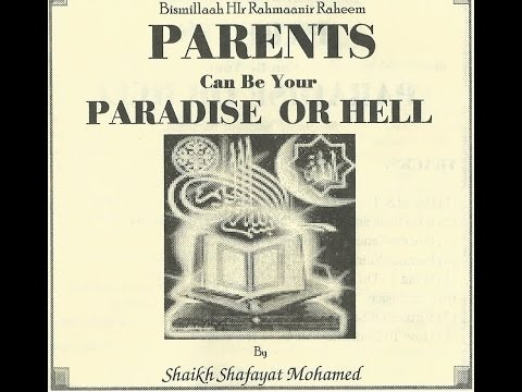 Parents Can Be Your Paradise Or Hell