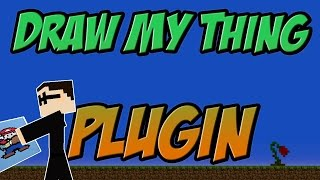 Draw My Thing Bukkit Plugin Minecraft | 1.8 Spigot | German| | Tutorial |