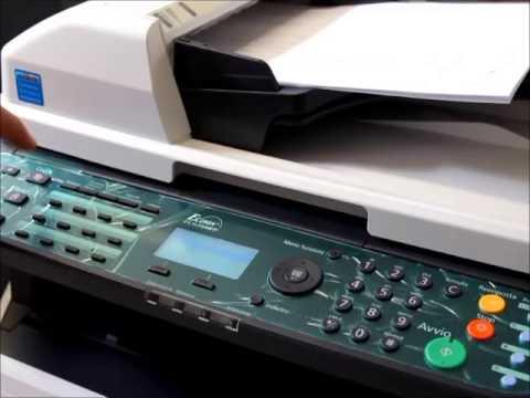 Kyocera FS-1135 FS-1035 Scansione in rete - YouTube: https://www.youtube.com/watch?v=xbJP2rzUsJY
