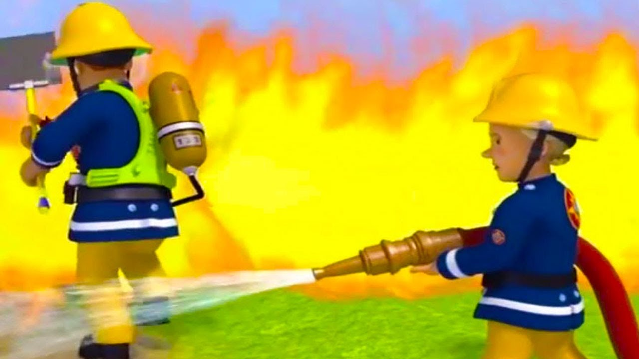 It is a graphic of Accomplished Fireman Sam Pic