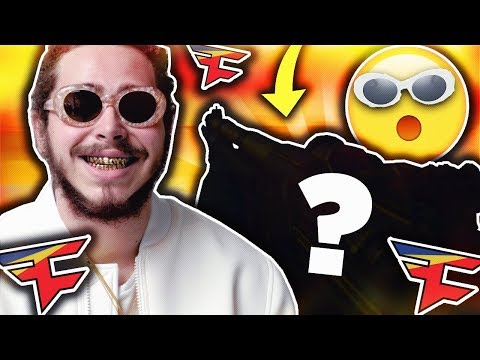 POST MALONE wants my CALL OF DUTY ACCOUNT!! (he says his secret)