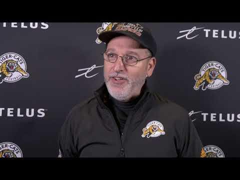 Hamilton Tiger-Cats Practice: Richard's Big Day
