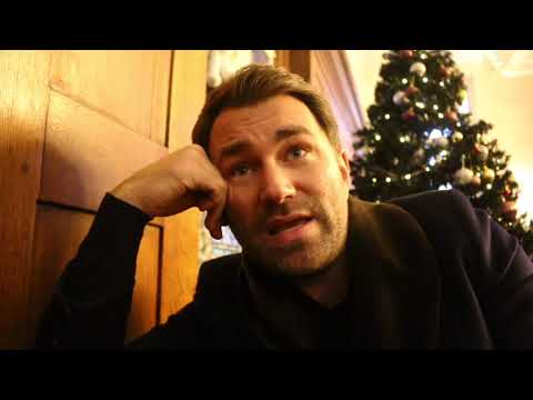 EDDIE HEARN ON DeGALE LOSS, JOSHUA-PARKER 'CLOSE', HAYE/BELLEW/FURY, BROOK, WHYTE-FURY, TAYLOR