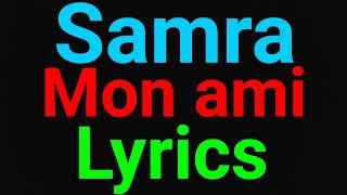 Samra | Mon ami | Lyrics