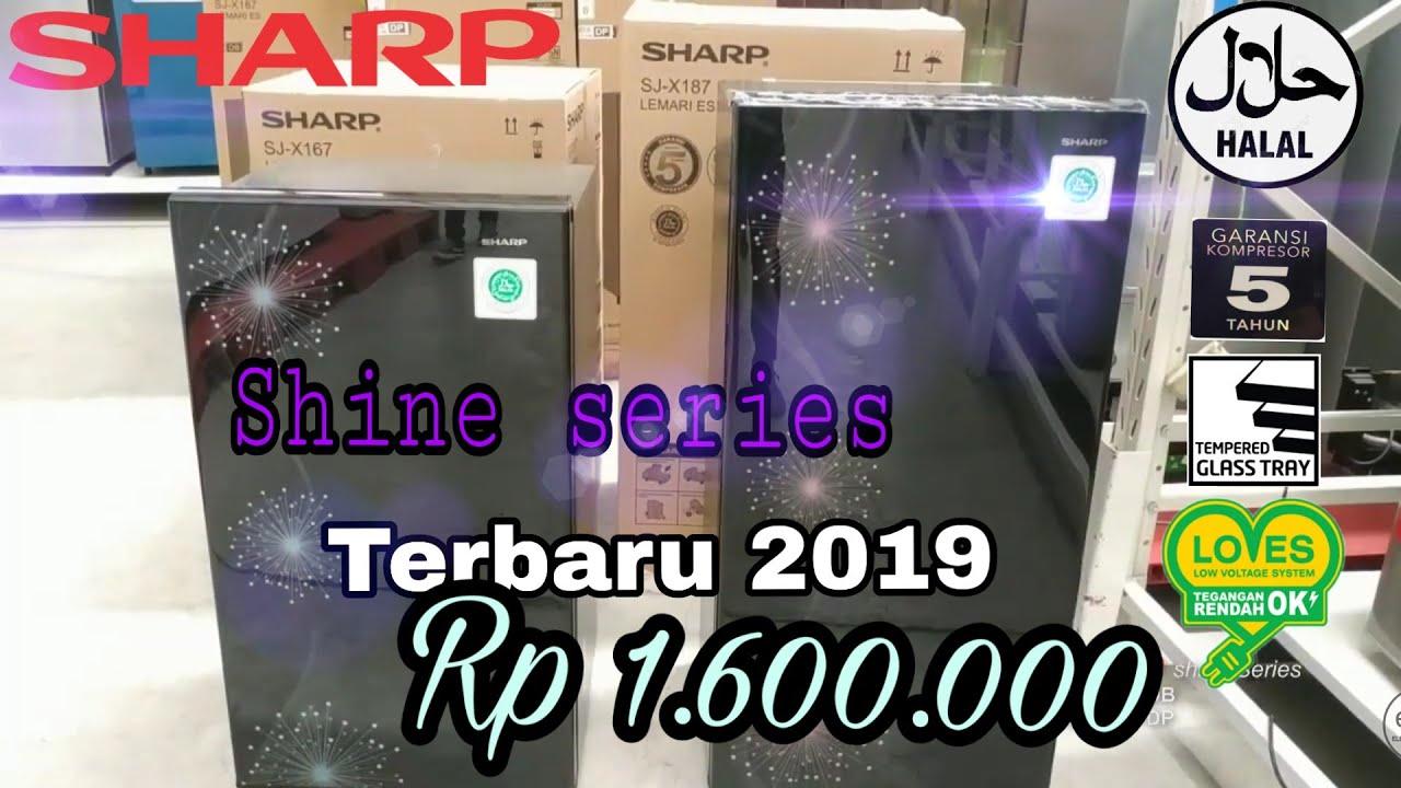 Sharp Lemaries Review Kulkas Sharp Terbaru 2019 Satu Pintu Sj X167 Mg Sj X187 Mg Youtube
