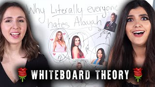 Why Everyone Hates Alayah - The Bachelor Whiteboard (ep4)