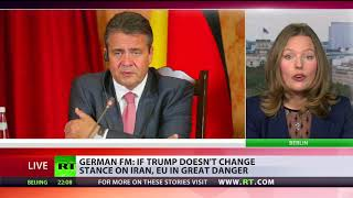 Trump's stance on Iran places Europe in great danger – German FM