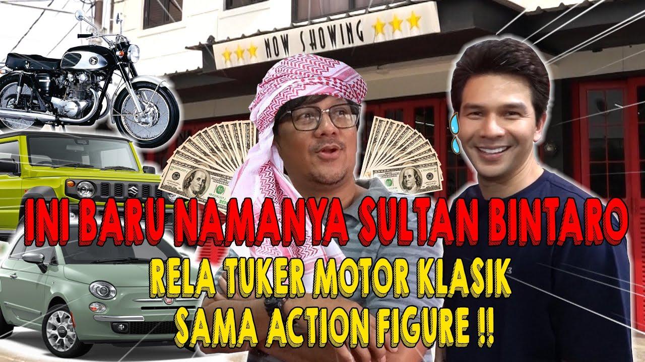 MANTUL!!!! TUKER MOTOR KLASIK ANDRE TAULANY DENGAN ACTION FIGURE IJONK!!