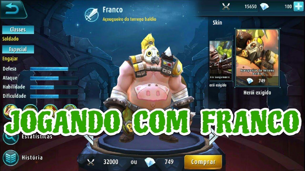 Mobile Legends Wallpaper Mobile Legends Jogando FRANCO