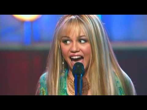 Hannah Montana Just Like You music video