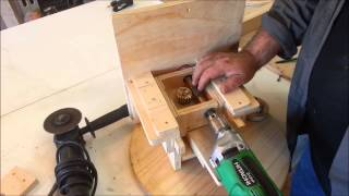 Homemade Oscillating Spindle Sander Drill Overview