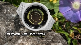 Touch Screen Watch Design: Kisai Rogue Touch Silicone from Tokyoflash Japan