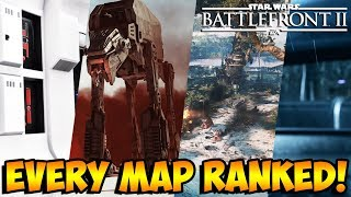 Star Wars Battlefront 2 - Every Map Ranked from Worst to Best! (Battlefront II)