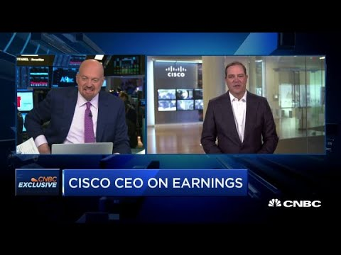 Cisco CEO Chuck Robbins on earnings, China trade, 5G and more
