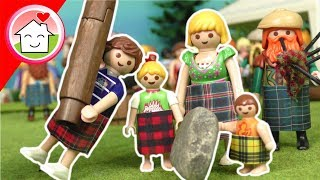Playmobil Film Familie Hauser - Hausacher Highland Games - Kinderfilm Kinderserie