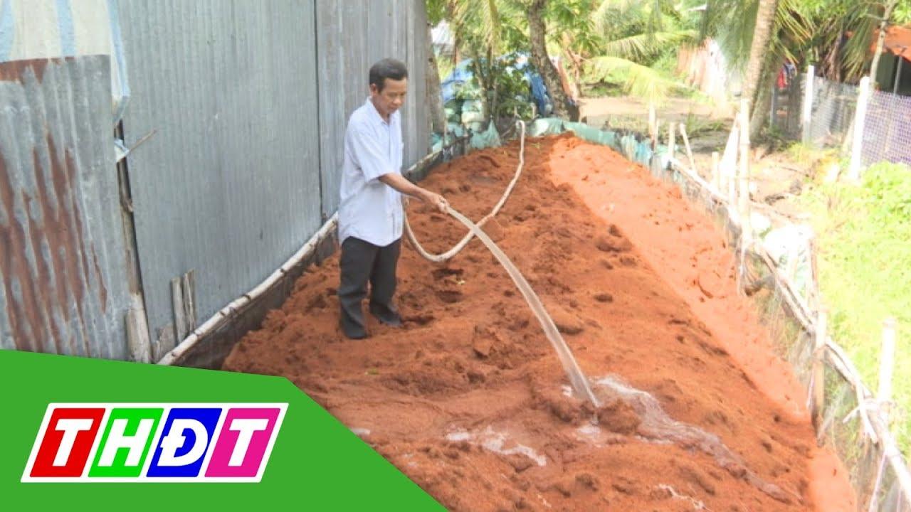 Mô hình sản xuất đất sạch đầu tiên của tỉnh Đồng Tháp   THDT