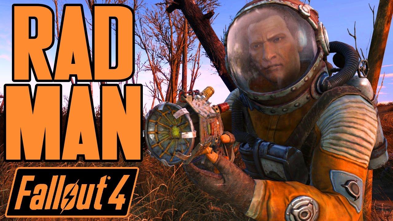 Fallout 4 - RAD MAN BOSS - Dea...