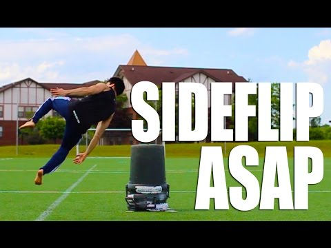 How to Side Flip in 5 Minutes   Learn ASAP With This One Simple Trick