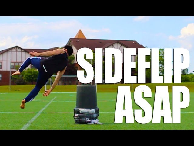 How to Side Flip in 5 Minutes | Learn ASAP With This One Simple Trick