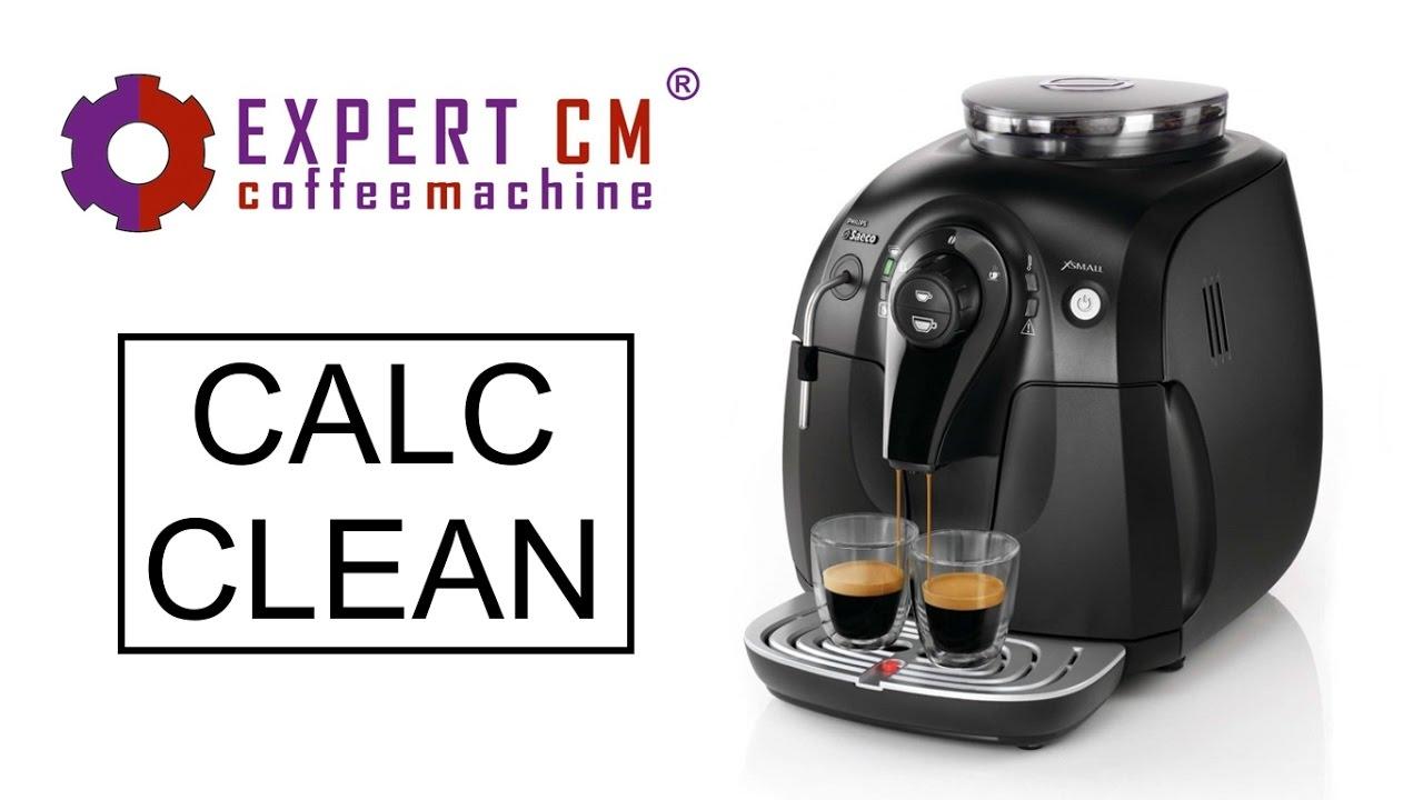 Ремонт и декальцинация кофемашины Philips Saeco - YouTube