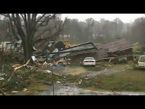 Tornado Hits Adairsville, Ga.