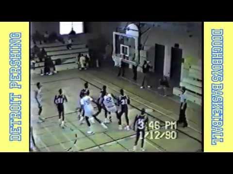 Detroit Pershing Basketball 1990