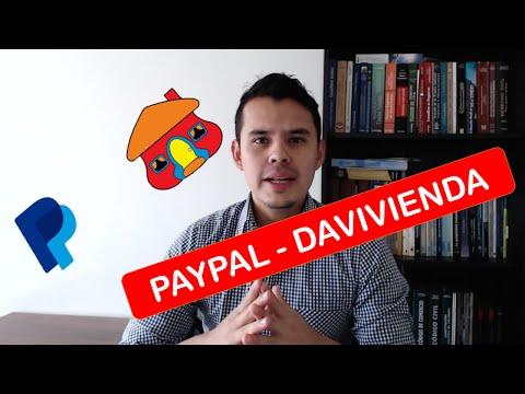 Como Funciona Paypal y Davivienda?