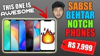 6 Sabse Saste Notch Display Wale Phones, iPhone Wali Look, Android Ki Azaadi