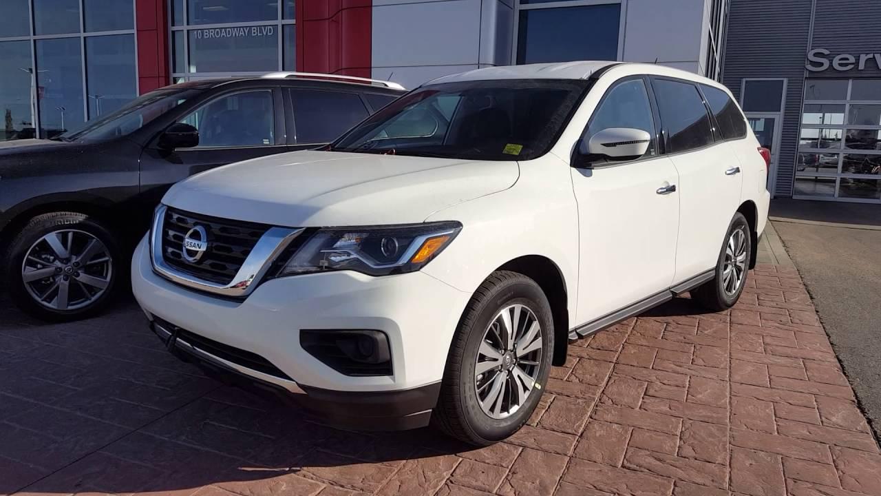 2017 Nissan Pathfinder Pearl White Sherwood Nissan Youtube