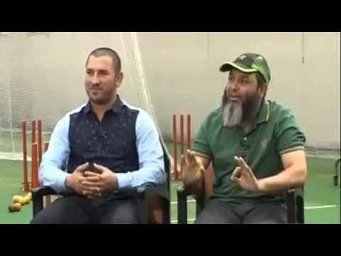 "Funny Conversation 2016 Ramiz with Mushtaq ""Googly kab Karni Chahiyay"""