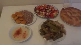 Турецкая кухня: САРМА готовим сарму из виноградных листьев.Iftar yemeği yaprak sarması, Türk mutfak