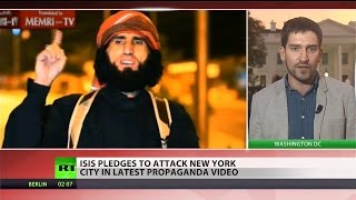 ISIS release video threatening New York City, Washington, DC
