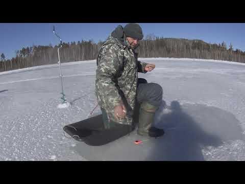 Рыбалка на Усть-Илимском водохранилище. Окунь на мормышку !!!