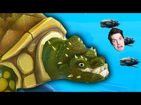 GIANT KILLER TURTLE! (Feed and Grow: Fish)