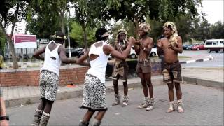 South African Men Tribal Dance!