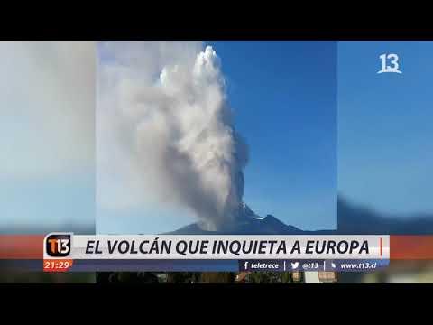 Etna: el volcán que inquieta a Europa