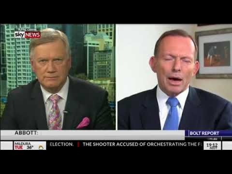 Interview - Andrew Bolt with Tony Abbott On Immigration Cuts